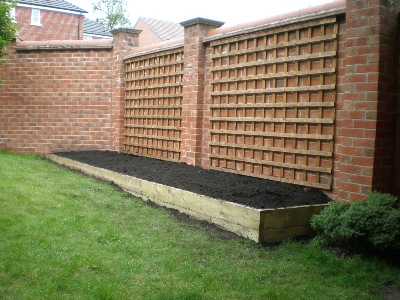 Abbey decking systems fencing services derby for Garden decking borders