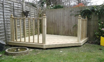 Abbey decking systems fencing services derby for 6 metre lengths of decking